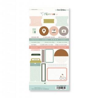Stickers etiquetas LATITUD