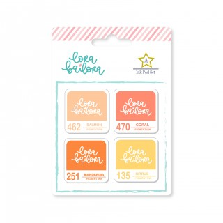Set de tintas PEACH