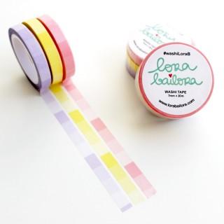 SET Washi tape Degradado...