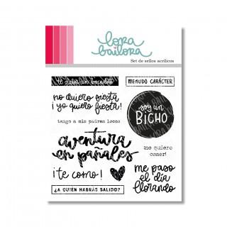 Set de sellos acrílicos BICHO